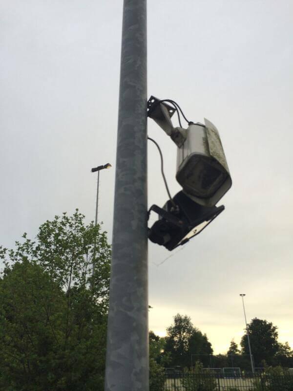 slechte bewakingscamera beelden voorkomen