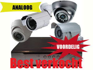 Analoge bewakingscamera's is verouderde techniek