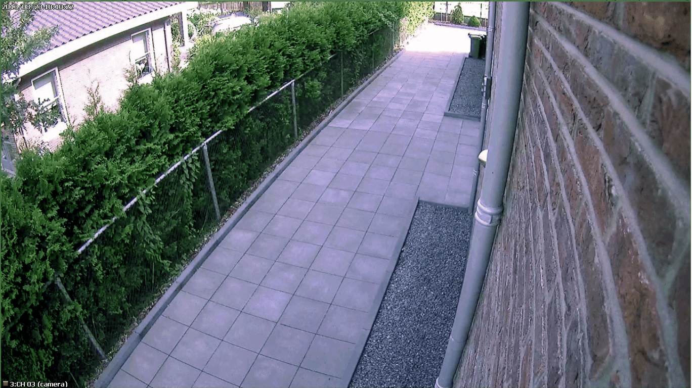 Van analoge naar digitale bewakingscamera. HD-SDI voorbeeld