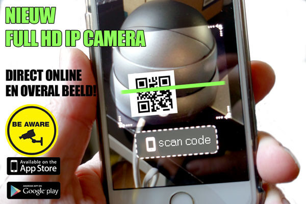 IP camera met makkelijke app