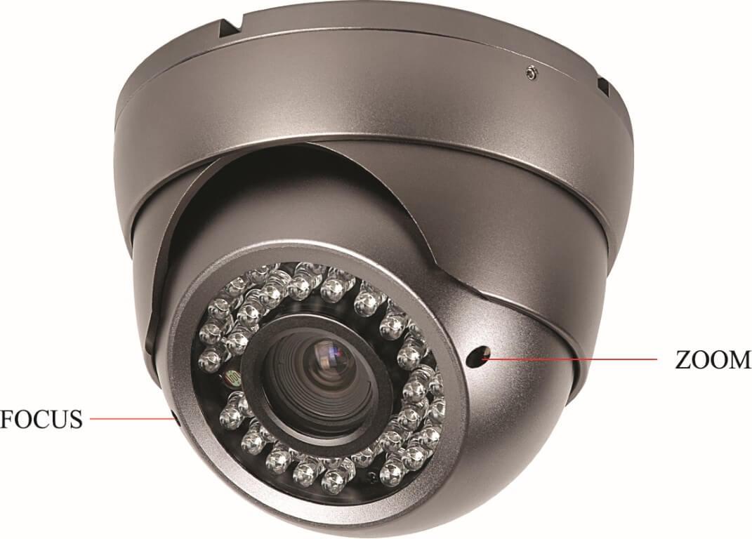 Goedkope dome camera