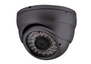 ir kleuren dome beveiligingscamera met 9-22 mm lens