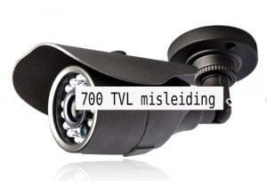 D1 H960 700TVL 1200TVL-misleiding
