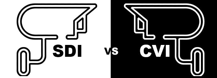 HDCVI en HD-SDI verschil