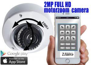 motor zoom camera