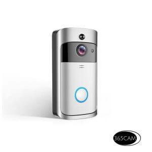 deurbel camera draadloos op accu