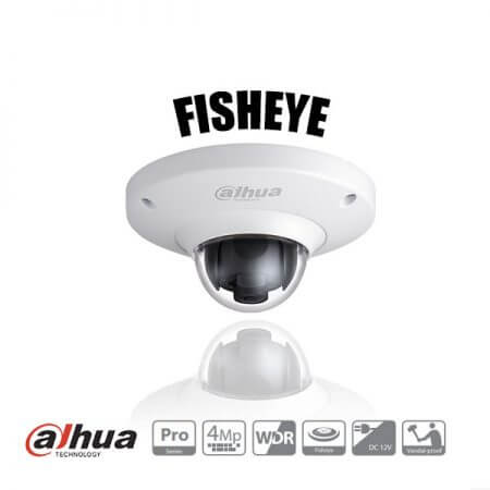 Dahua 360 Fisheye camera
