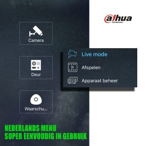 Handige bewakingscamera app van Dahua