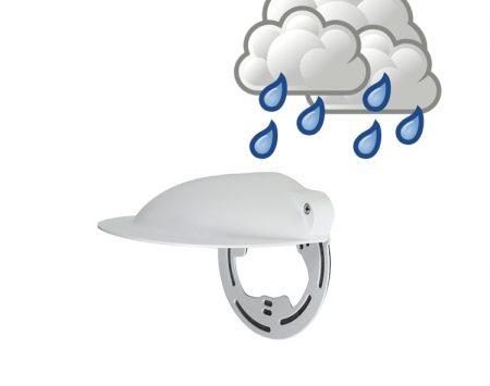Regen bescherming bewakingscamera