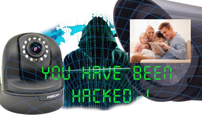 Is een bewakingscamera veilig ?