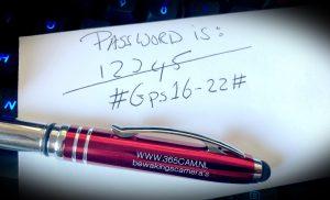 Verander het password