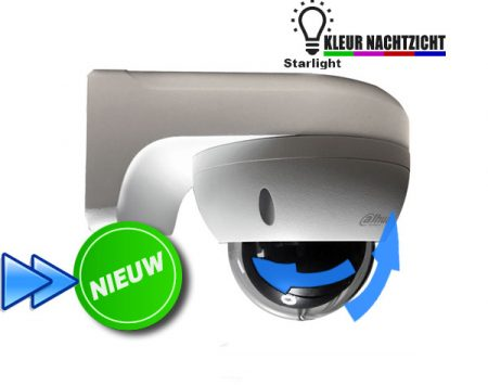 Bestuurbare Starlight bewakingscamera