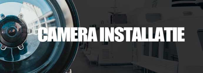 bewakingscamera installatie