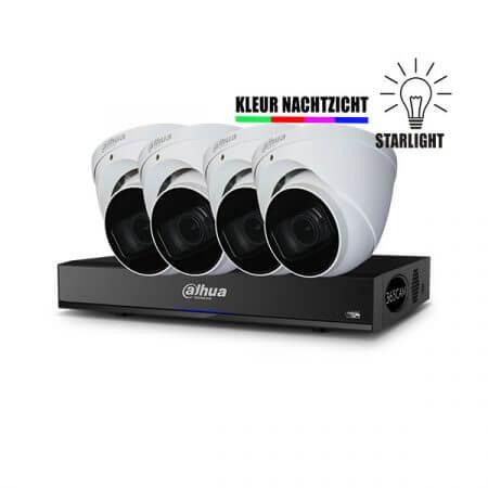 4K bewakingscamera