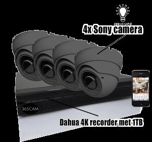 sony beveiligingscamera set