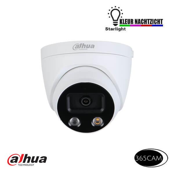 IP camera met speaker en sirene