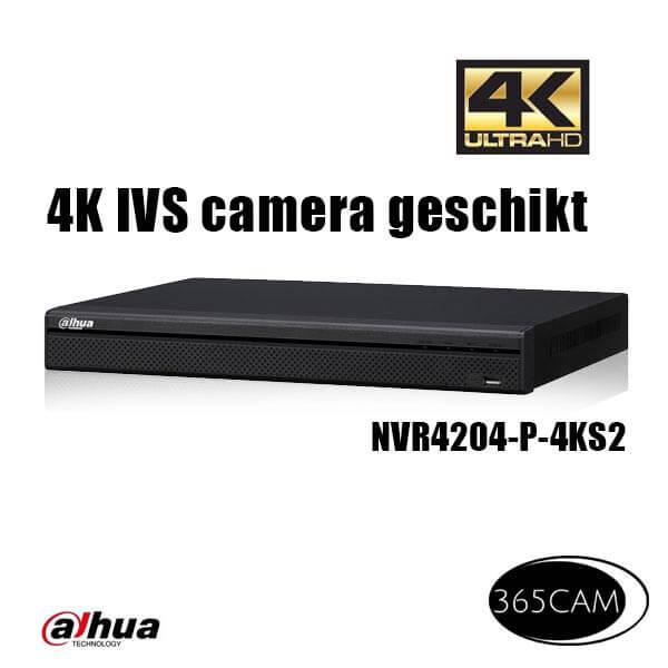 Dahua NVR NVR4204-P-4KS